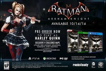 Arkham Knight'ın Harley Quinn DLC'si pek bir şey vaadetmiyor