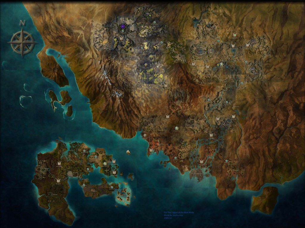 Map of Elona