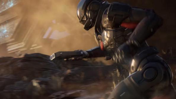 Mass Effect 4 gun sprint