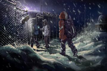 Bilim kurgunun hayatta kalmayla birleştiği bir oyun: Distrust