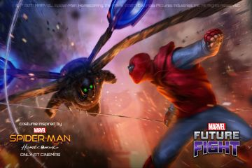 MARVEL Future Fight'a Spider-Man: Homecoming eklentisi!