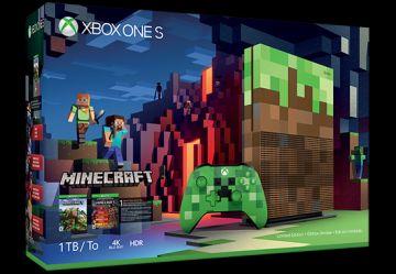 Minecraft temalı Xbox One S!