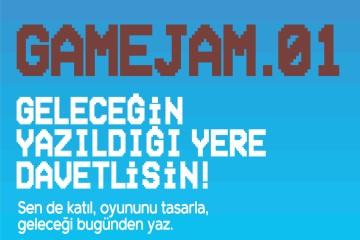 Game Jam 01, Bilgi Üniversitesi'nde başlıyor!