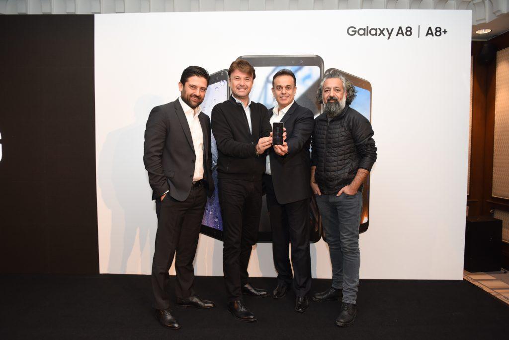 Samsung Galaxy A serisinin çift ön kamera özelliğiyle selfie çekme deneyimine farklı bir boyut kazandıran yeni üyeleri Galaxy A8 ve A8+'ın Türkiye tanıtımı gerçekleşti. | Sungurlu Haber