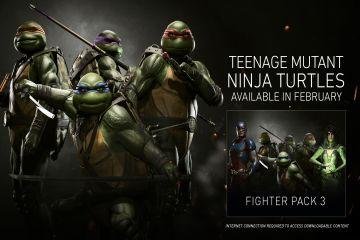 Injustice 2'de Ninja Kaplumbağalar'la savaşmaya hazır olun.