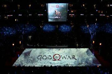 NBA maçının ortasında God of War şoku!