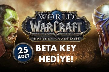LEVEL'dan 25 kişiye Battle For Azeroth Beta kodu!