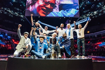 TBF'nin şampiyonu Bahçeşehir SuperMassive