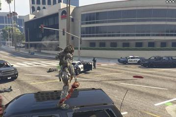 Predator olabileceğimiz yeni GTA V modu