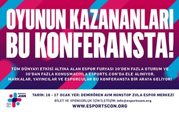 Türkiye'nin ilk Espor zirvesi ESPORTS.con