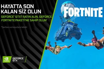 GeForce GTX ile Fortnite bundle kampanyası