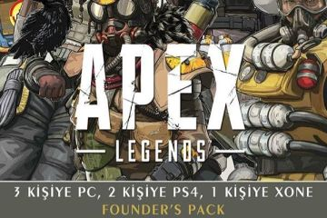 LEVEL'dan 6 adet Apex Legends Founder's Pack hediye!