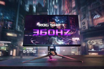 ASUS, ROG Swift 360Hz'i duyurdu