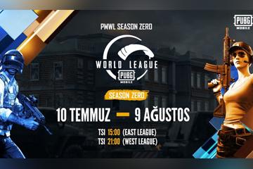 PUBG MOBILE WORLD LEAGUE SEASON ZERO – Özel sezon çıktı!