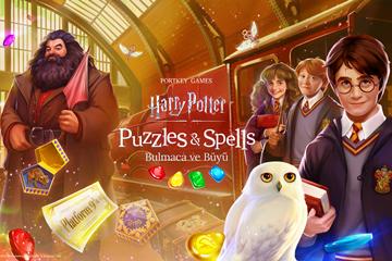 Harry Potter temalı mobil oyun: Harry Potter: Puzzles & Spells