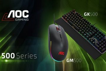 AOC GM500 Mouse ve GK500 Keyboard incelemesi