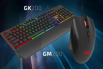 AOC GM200 Gaming Mouse ve GK200 Gaming Keyboard İnceleme