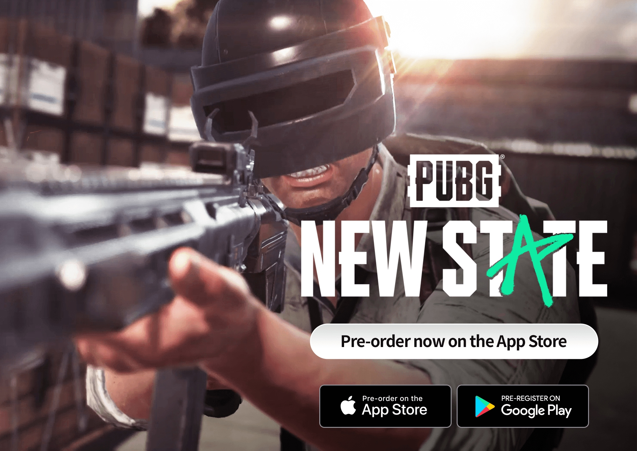 PUBG New State ön kayıtları iOS'ta devam ediyor.
