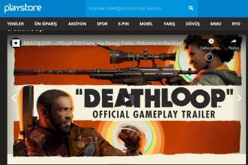 Deathloop için Playstore'da 12 taksit imkanı!