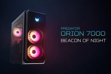 Acer'dan kuvvetli bir oyuncu bilgisayarı: Predator Orion 7000